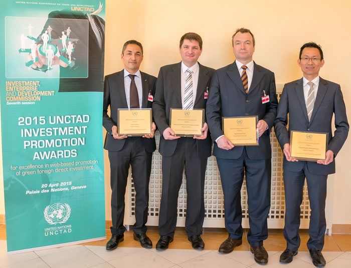 UNCTAD investment promotion awards 2015