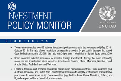 nvestment Policy Monitor No. 20