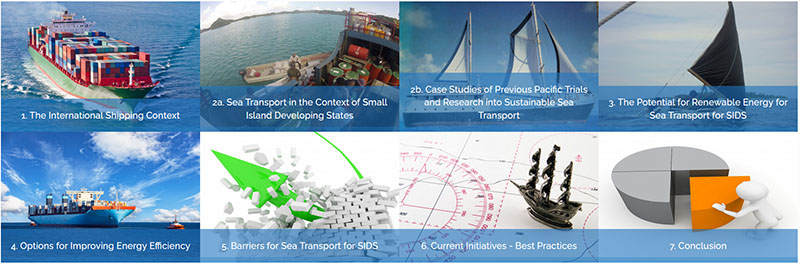 Sustainable sea transport solutions for SIDS