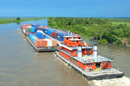 Bolivian river port offers landlocked nation alternative route to sea