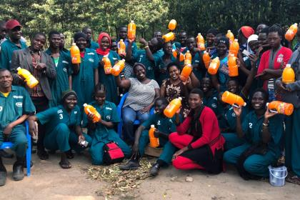Prize-winning Ugandan woman entrepreneur grows juice business, improves community