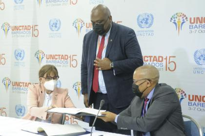 UNCTAD, Barbados sign $2.1 million deal to speed up trade