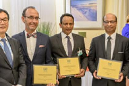Ethiopia, Mauritius and Spain honoured for promoting investment in Sustainable Development Goals
