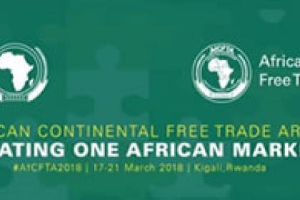 """The task ahead is great"" say African leaders as continent-wide free trade deal is signed"