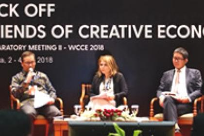 UNCTAD, Indonesia collaborate on first global creative economy conference