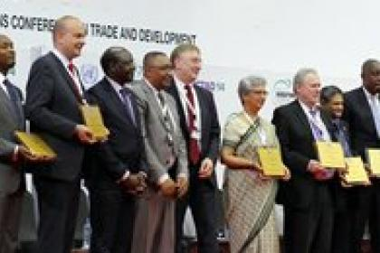 Investment promotion agencies honoured at UNCTAD14